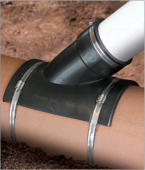 Fernco Sewer Main Flexible Tap Saddle | Fernco - US