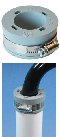 washing machine drain hose check valve