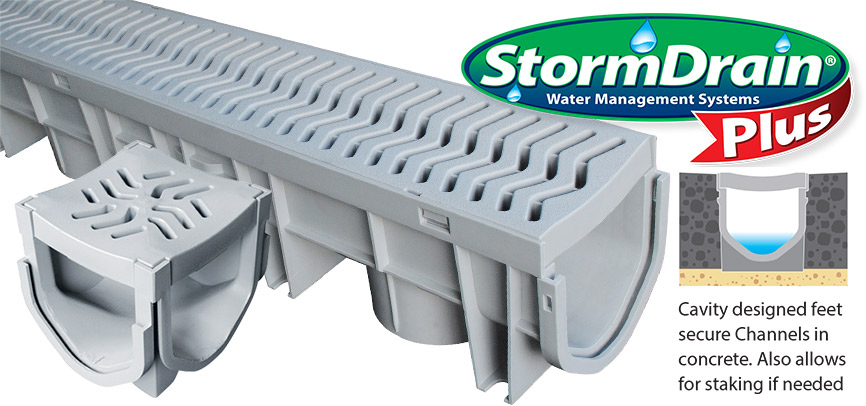 Gentil StormDrain Plus   Water Management Systems By Fernco