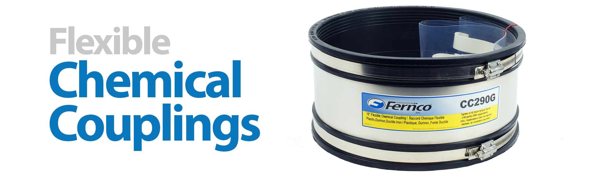 Fernco Chemical Couplings