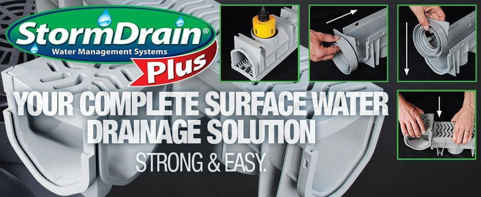 StormDrain Plus - Your Complete Surface Water Drainage Solution