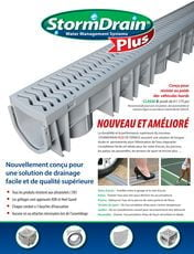 Stormdrain plus surface water drainage solution fernco us for French drain collection box