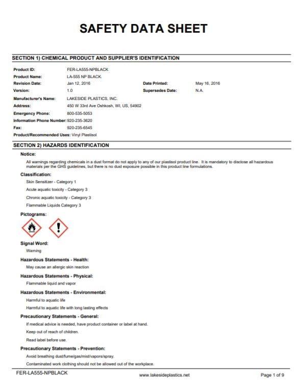 Plastisol | Fernco - US